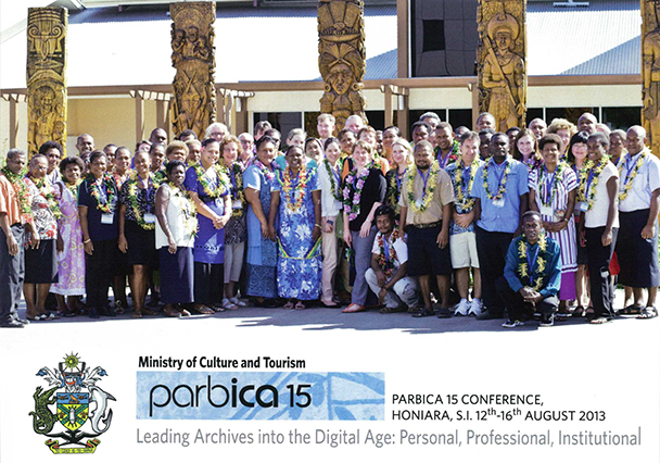 PARBICA 15 Conference attendees, Honiara, S.I. 12th to 16th August 2013